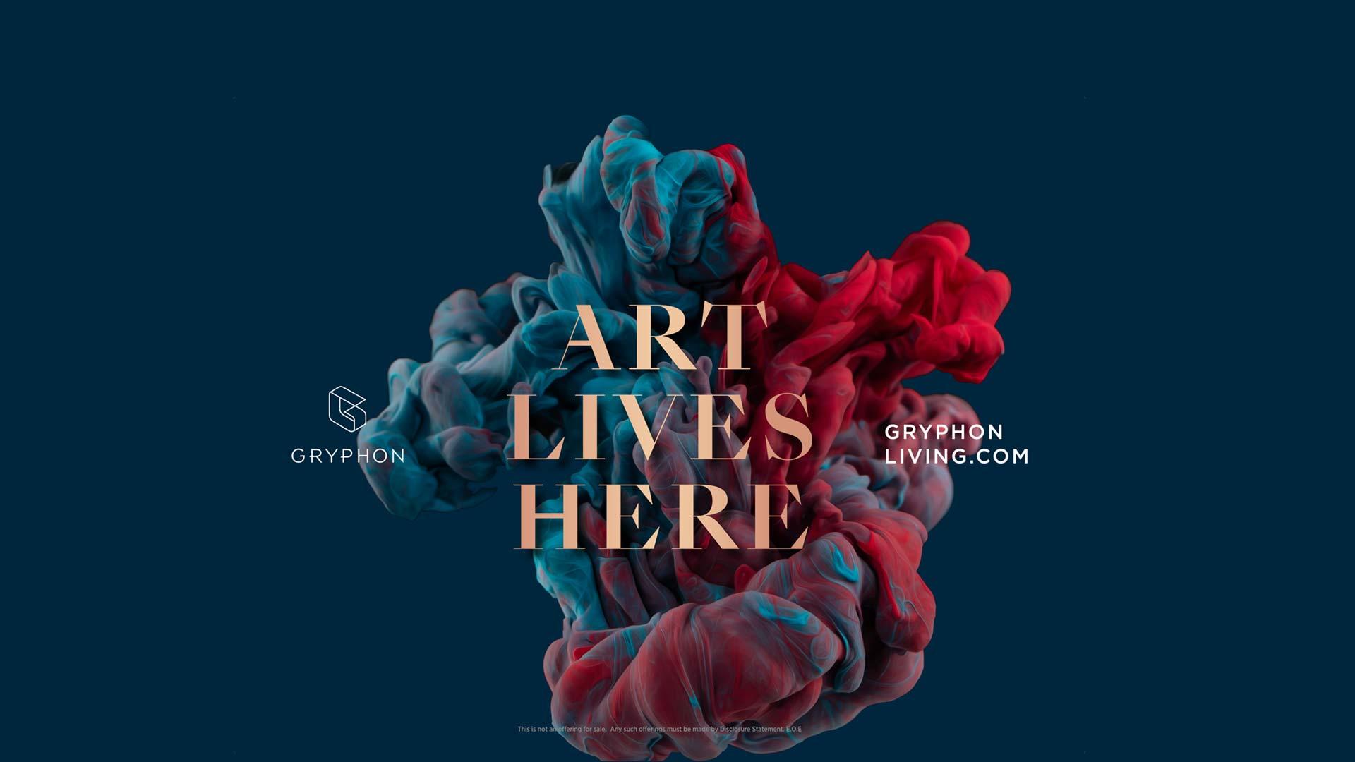 Art Lives Here Gryphon Development